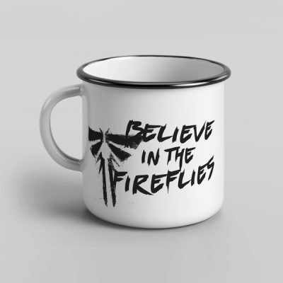 Taza vintage cerámica Believe in the fireflies | Double Project