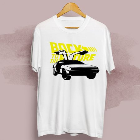 Camiseta Back to the future   Double Project
