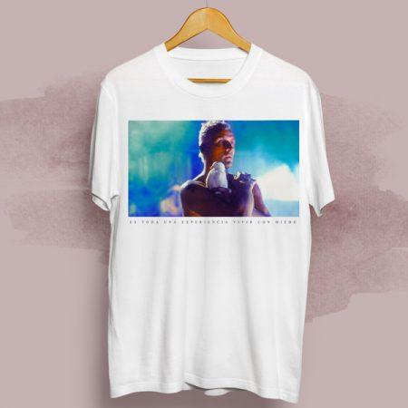 Camiseta Es toda una experiencia vivir con miedo   Double Project