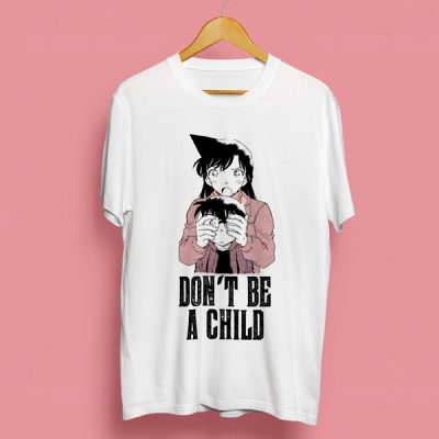 Camiseta don't be a child | Double Project