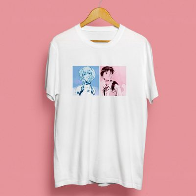 Camiseta Shinji & Rei | Double Project