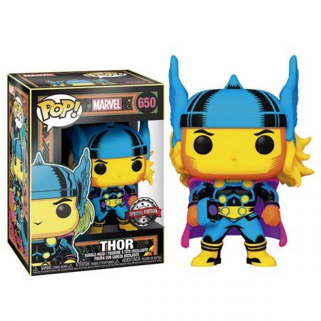 Marvel Funko POP Black Light Thor | Double Project