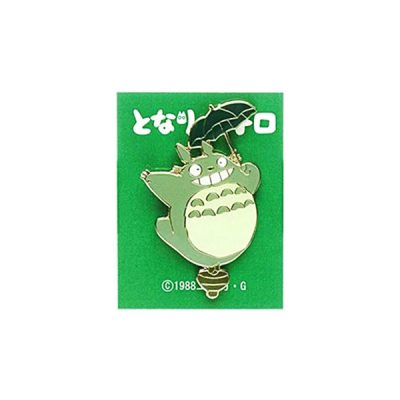 Ghibli Pin Totoro con paraguas | Double Project