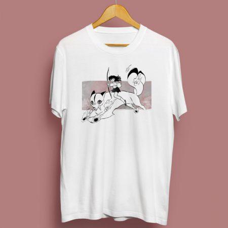 Camiseta Kagome & Kirara