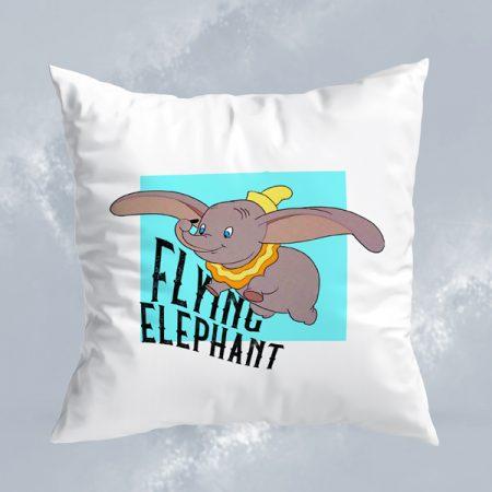 Cojín Flying elephant