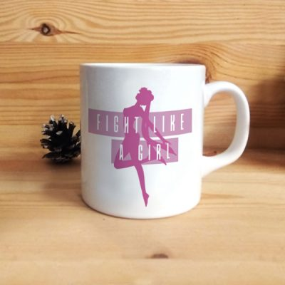 Taza Fight like a Girl | Double Project