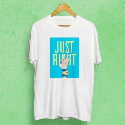 Camiseta Just Right