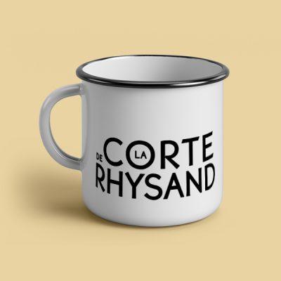 Taza vintage cerámica La corte de Rhysand