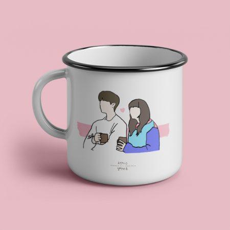Taza vintage cerámica Romance is a bonus