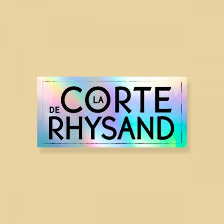 Pegatina holográfica La corte de Rhysand