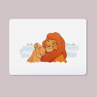 Alfombrilla ratón Nala & Simba