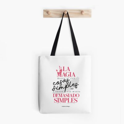 Bolsa La magia hacia las cosas simples