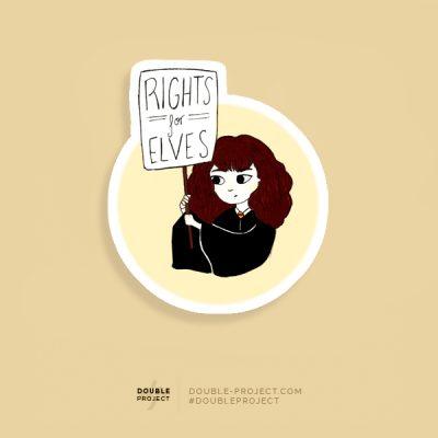 Pegatina Rights
