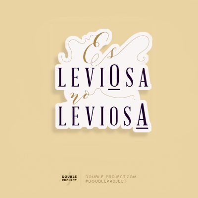 Pegatina Leviosa