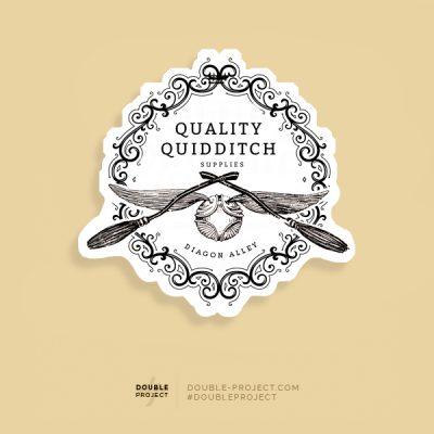 Pegatina Quality Quidditch