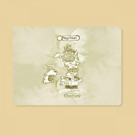Alfombrilla ratón Mapa Prythian
