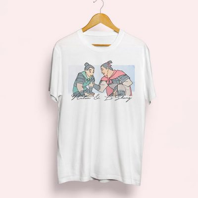 Camiseta Mulan & Li Shang