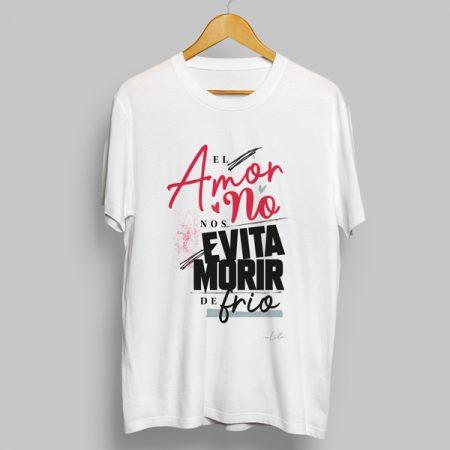 Camiseta El amor no nos evita