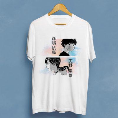 Camiseta Hina & Hodaka