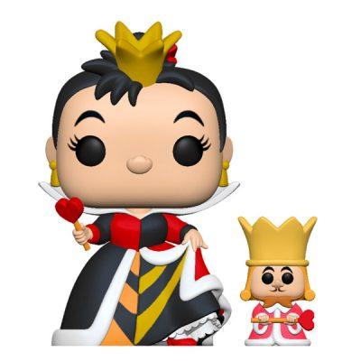 Disney Alicia en el Pais de las Maravillas Funko POP Queen with King
