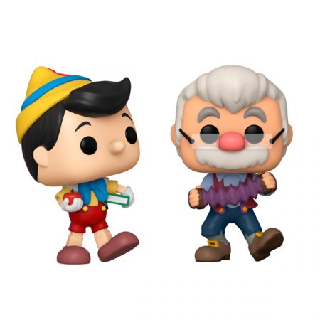 Disney Pinocchio Funko POP Pack Geppetto & Pinocchio