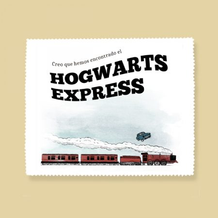 Gamuza de microfibra Hogwarts express