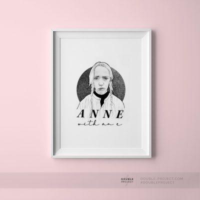 Lámina Anne with an e