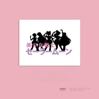 Lámina Sailor Moon team