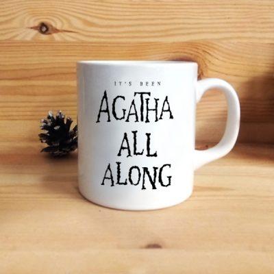 Taza Agatha all Along
