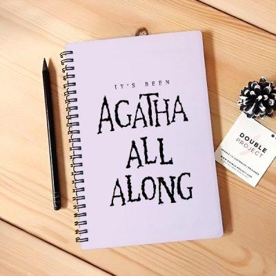 Libreta espiral Agatha All Along