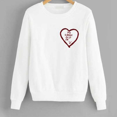 Sudadera To Grow old in