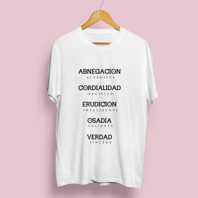 Camiseta Facciones