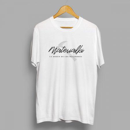 Camiseta materialki