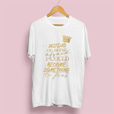 Camiseta something to fear