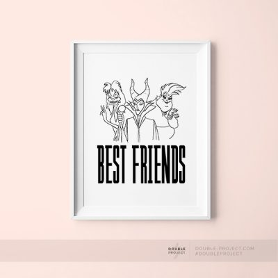 Lámina Best Friends