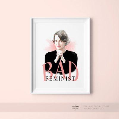 Lámina bad feminist
