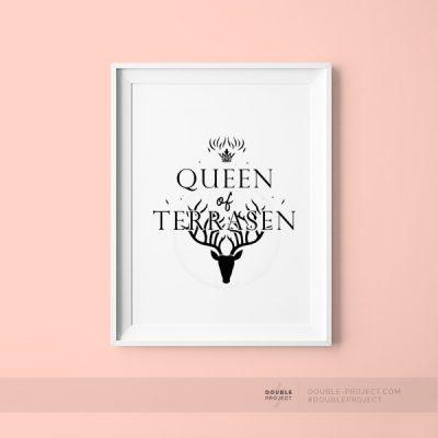 Lámina Queen of terrasen
