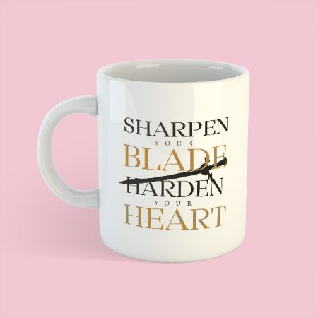 Taza Sharpen your blade