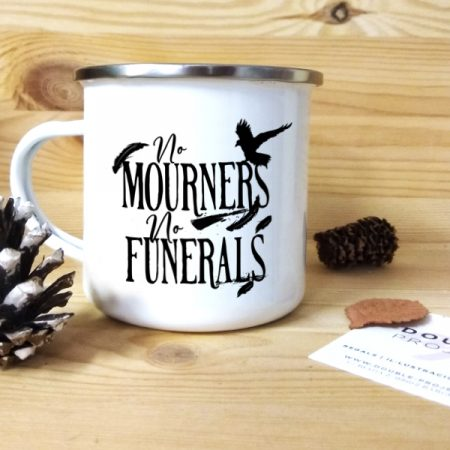 Taza vintage No Mourners, no funerals