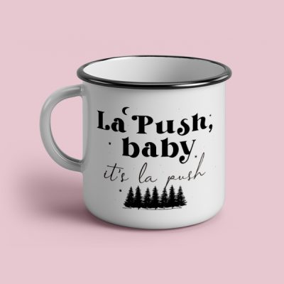Taza vintage cerámica La push baby