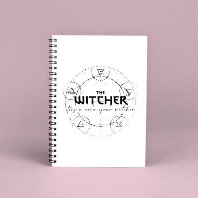 Libreta espiral the witcher