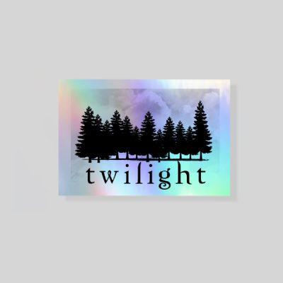 Pegatina holográfica Twilght