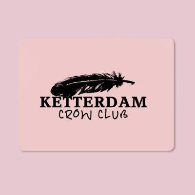 Alfombrilla ratón Ketterdam Crow club
