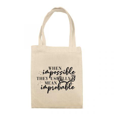 Bolsa When Impossible