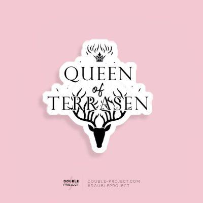 Pegatina Queen of Terrasen