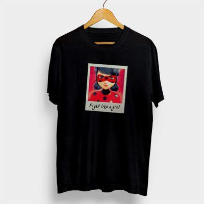 Camiseta Algodón Fight like a girl