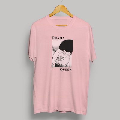 Camiseta algodón Drama Queen