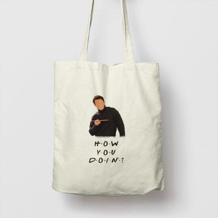 Tote bag de Algodón How you doin'