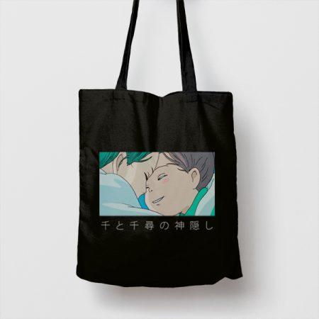 Tote bag de Algodón El viaje de Chihiro