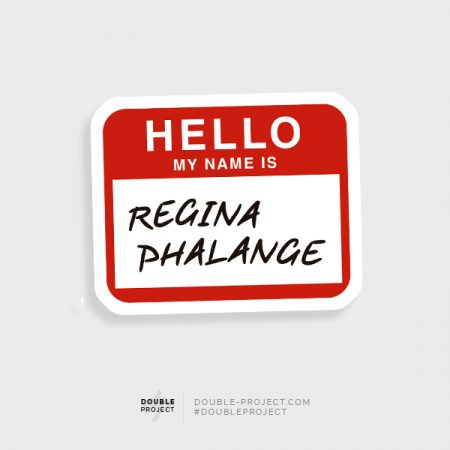 Pegatina Regina Phalange